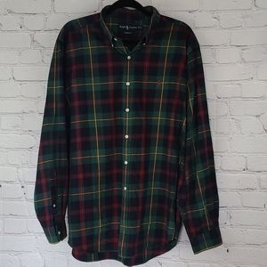 Ralph Lauren Classic Fit Long Sleeve Plaid Shirt
